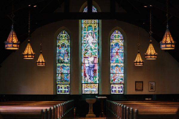 empty church